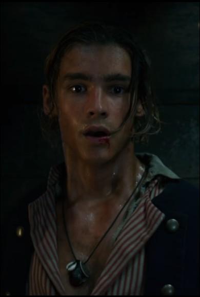 """Quel est le nom de l'acteur qui joue le rôle de Henry Turner dans la saga """"Pirates des Caraïbes"""" ?"""