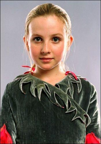 """Quel est le nom de l'actrice qui joue le rôle de Gabrielle Delacour dans la saga """"Harry Potter"""" ?"""