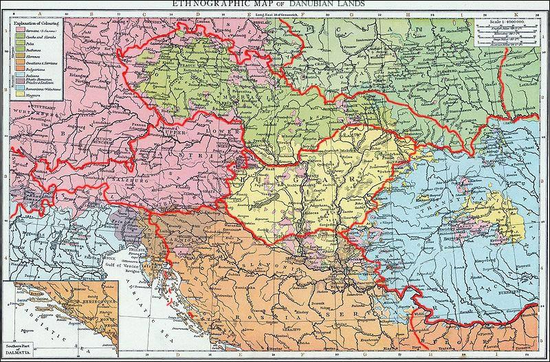 Entre fin 1918 et début 1919, la défaite de l'Alliance entraîne