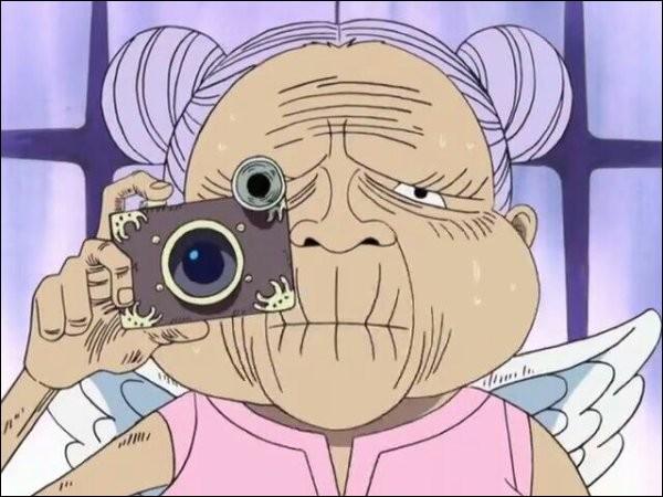 Ce personnage vit sur Skypiea ! Comment s'appelle-t-il ?