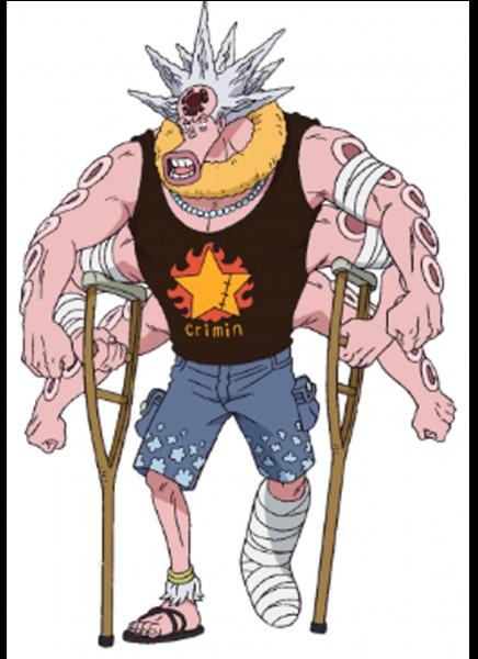 Ce personnage vit sur l'île des Hommes-Poissons ! Comment s'appelle-t-il ?