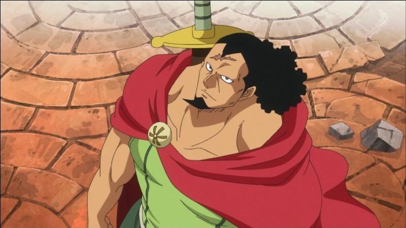 Ce personnage vit à Dressrosa ! Comment s'appelle-t-il ?