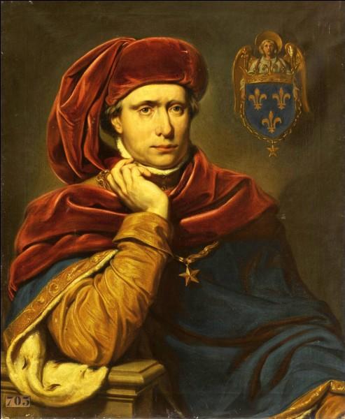 Charles VI (de 1380 à 1422) avait pour surnom le Bien-Aimé. Quel deuxième surnom lui fut donné au XIXe siècle ?