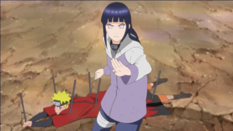 Que dit Hinata à Naruto lorsque Pain détruit Konoha ?