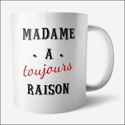 """Madame """"Je-Sais-Tout"""" connaît la France sur le bout des doigts ! Elle est allée skier à Métabief, dans les Pyrénées !"""