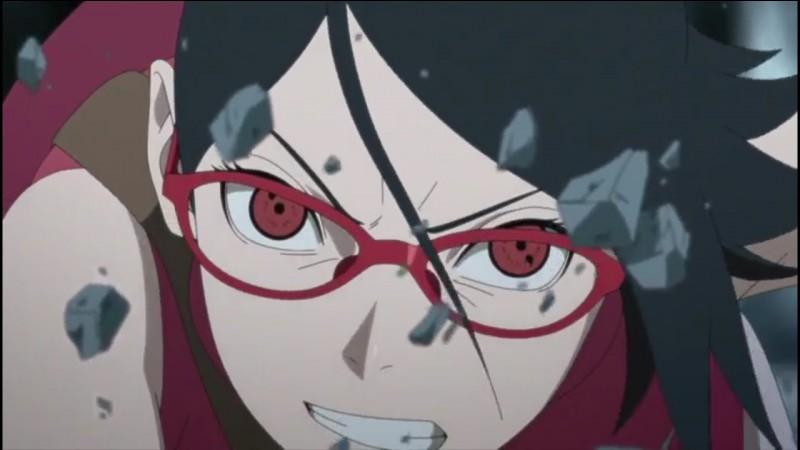 Qui est la mère de Sarada Uchiwa ?