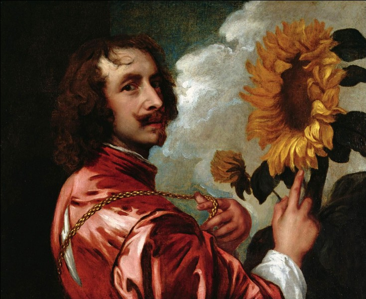 Quel est le prénom du peintre van Dyck ?