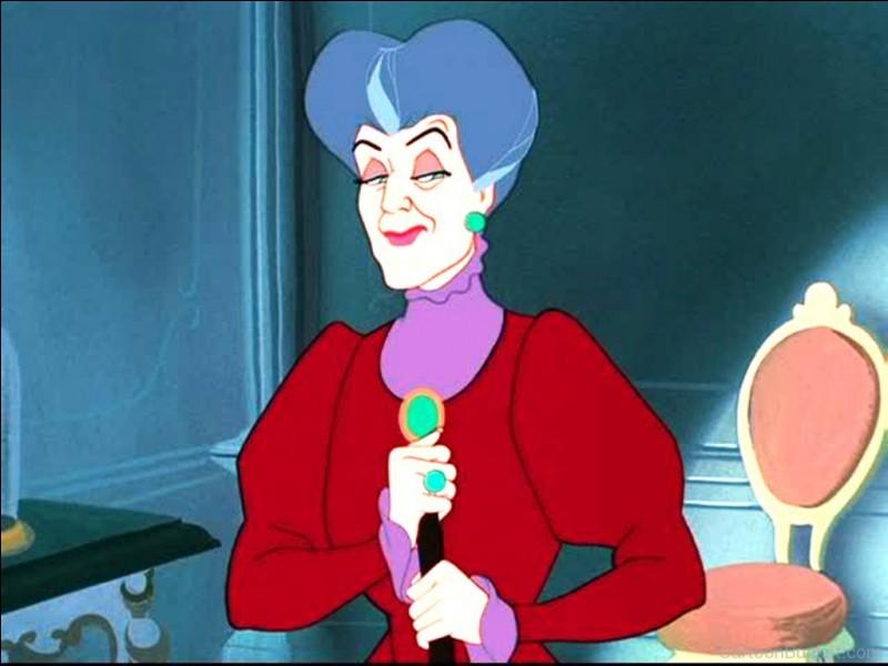 La mère de Cendrillon est elle gentille ?