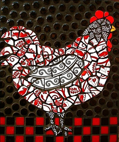 Si vous êtes déconcerté, voire emprunté, vous ressemblez à cette poule...