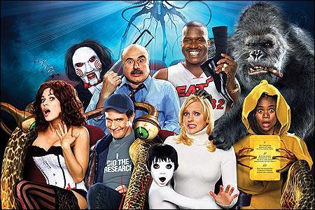 Lequel de ces films parodie les films à succès américains des années 2000 ?