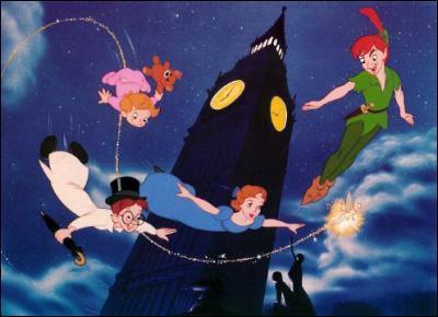 Comment s'appellent les frères de Wendy ('Peter Pan') ?