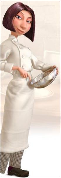 Comment s'appelle la seule fille qui travaille dans le restaurant de Gusteau ('Ratatouille') ?