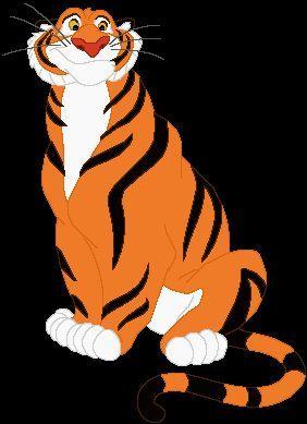 Comment s'appelle le tigre de Jasmine ('Aladin et la lampe merveilleuse') ?