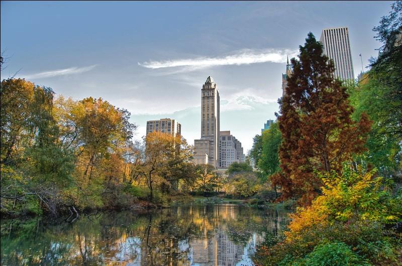Le Central Park est un de ses fameux sites incontournables.
