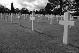 Dans quelle région se trouve ce cimetière américain ?