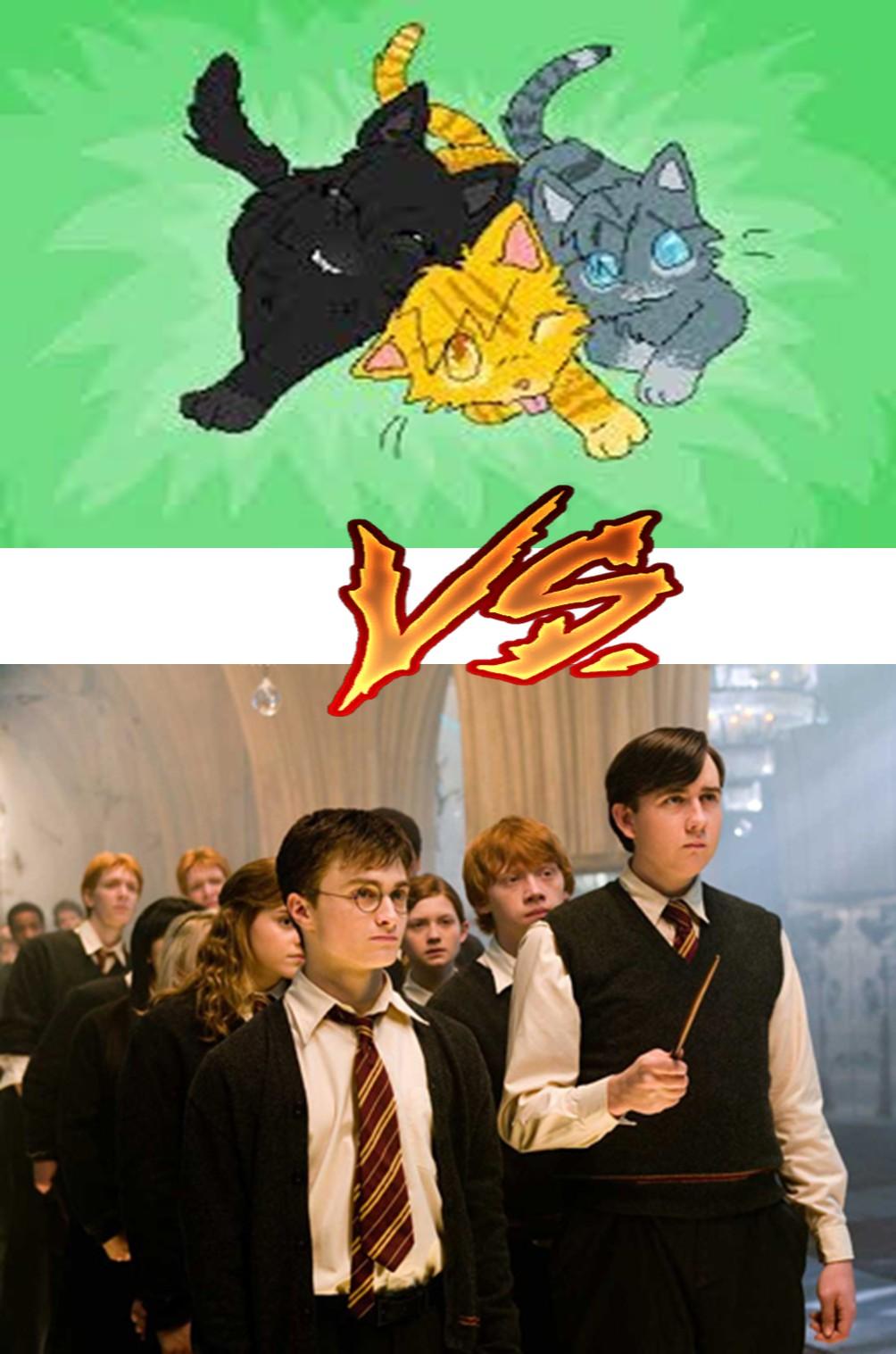 La Guerre des Clans vs Harry Potter