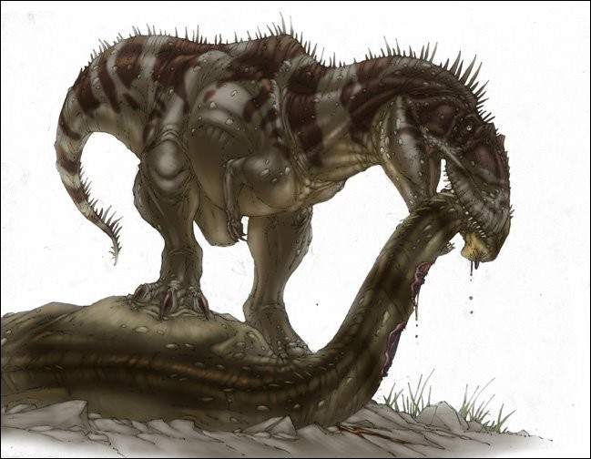 A quelle famille appartenait le Tyrannotitan ?