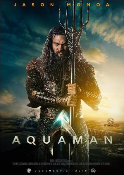"""""""Aquaman"""" est la première aventure solo du super-héros déjà apparu dans """"Batman v Superman""""."""