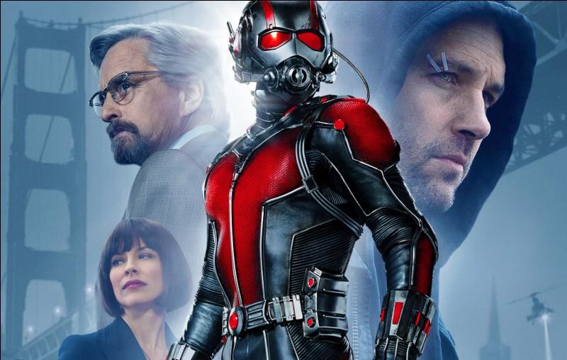 """L'histoire du film """"Ant-man"""" est celle d'un petit escroc doté de la capacité de rétrécir, tout en multipliant sa force."""