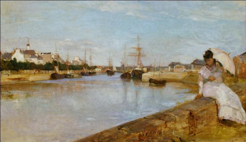 Quelle femme peintre, elle-même maintes fois portraiturée par Manet, compte parmi les pionnières du mouvement impressionniste ?