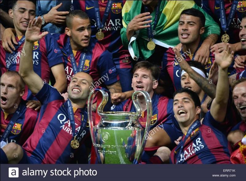 """Combien de """"Ligue des champions"""" le Barça a-t-il remportées ?"""