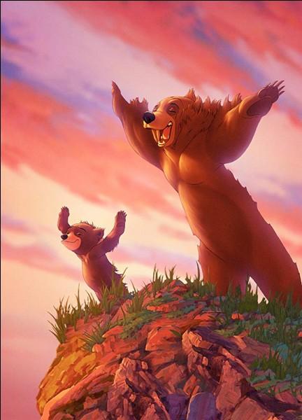 """Voilà un Fozzie fort marri lorsque d'homme il devint un ours... ! Quel est le prénom de celui qui devient ours et """"Frère des ours (Brother Bear)"""" ?"""