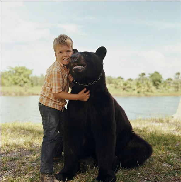 Voilà un noble Fozzie, doux animal familier de la famille Wedloe, et particulièrement du petit Mark, qui vit dans le Parc National des Everglades en Floride. Quel est le titre de cette série des années 60 ?
