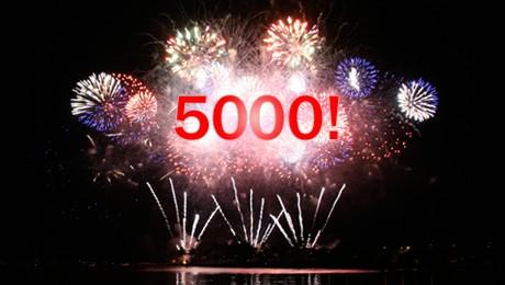 Quiz n°5000 ! Ça se fête !