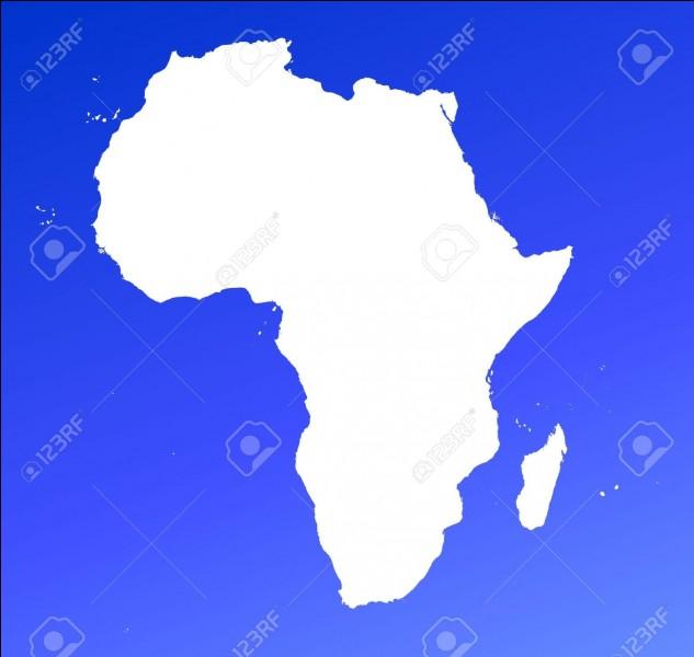 Quel est le continent que l'on voit sur cette photo ?