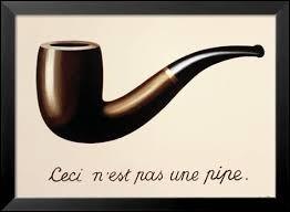 Quel est le nom de cette huile sur toile de René Magritte ?