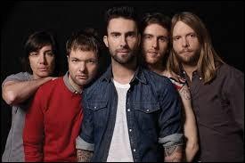 Comment s'appelle le chanteur du groupe pop Maroon 5 ?