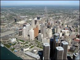 Dans quel État des États-Unis se trouve la ville de Détroit ?
