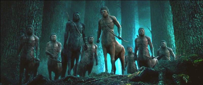 Combien de centaures Harry rencontre-t-il dans la Forêt interdite ?