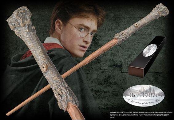 Combien de centimètres mesure la baguette de Harry Potter ?