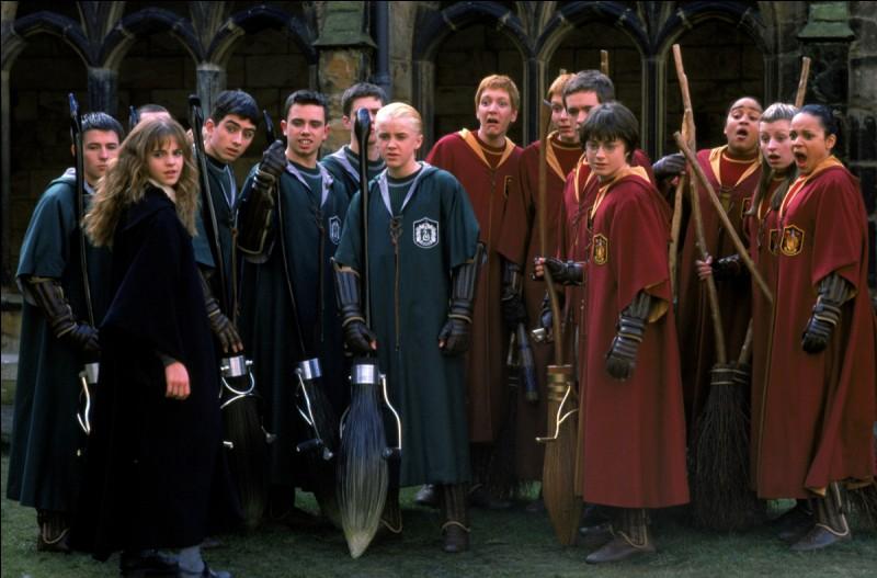 De quels balais sont équipés Fred et George Weasley ?