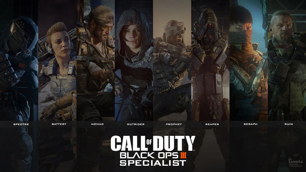 Quel spécialiste de 'Black Ops III' es-tu ?