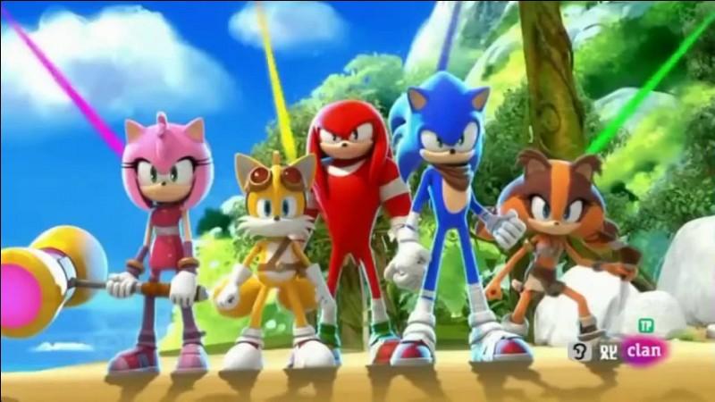 Qui préfères-tu dans ''Sonic'' ?