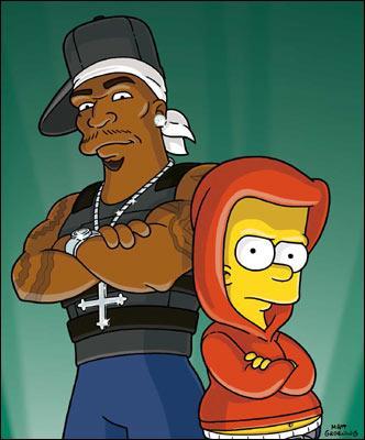 Qui est à coté de Bart ?