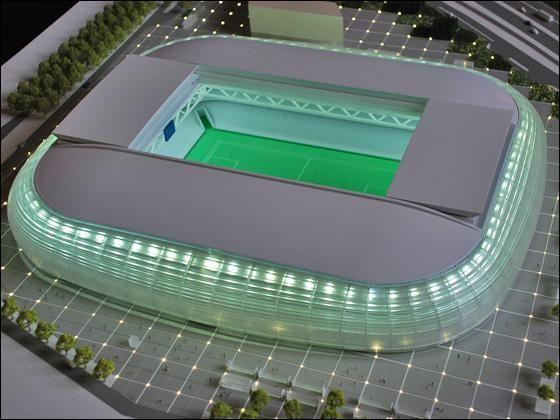 En quelle année le nouveau stade du losc sera fini ?