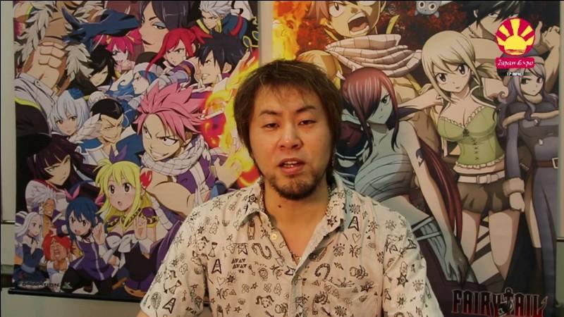 Comment s'appelle le créateur de Fairy Tail ?
