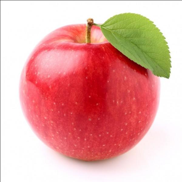 Qui a une marque de beauté en forme de pomme ?