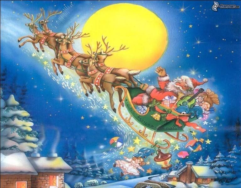 Grâce à son nez rouge lumineux, il guide les autres rennes dans la neige et le brouillard. Qui permet au père Noël d'effectuer sa tournée malgré la très mauvaise visibilité ?