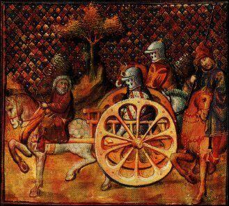 Il met en scène Lancelot, Guenièvre et Arthur dans ...