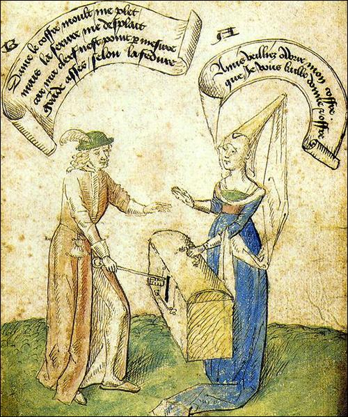 Quel genre de petits textes comiques se développent dès le XIIIe siècle ?