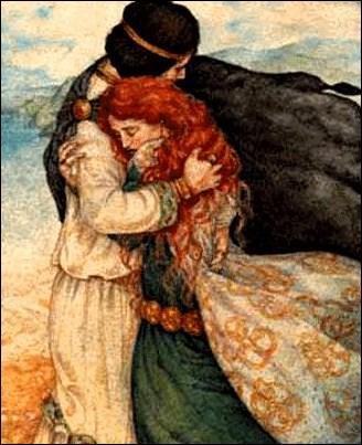 Béroul met par écrit, vers 1170, l'une des plus belle histoire d'amour. Il s'agit de...