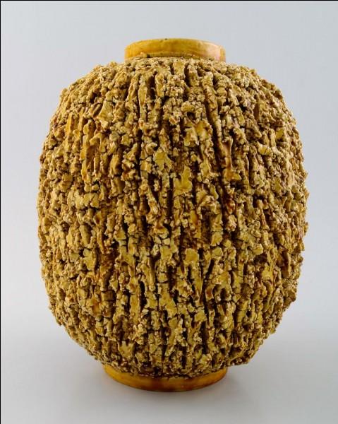 Argile cuite, utilisée en céramique !