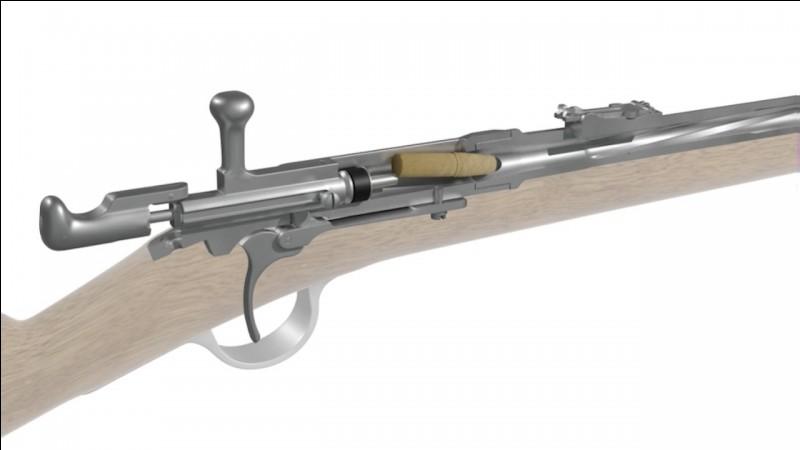 Fusil de guerre français à aiguille, utilisé au 19e siècle !