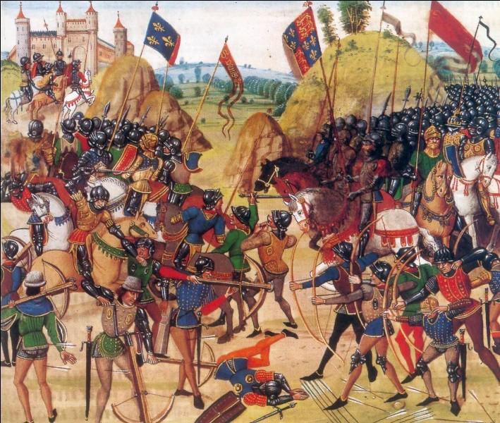 En quelle année eut lieu la bataille de Crécy ?