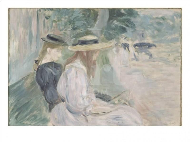 Qui a peint ce banc du bois de Boulogne ?