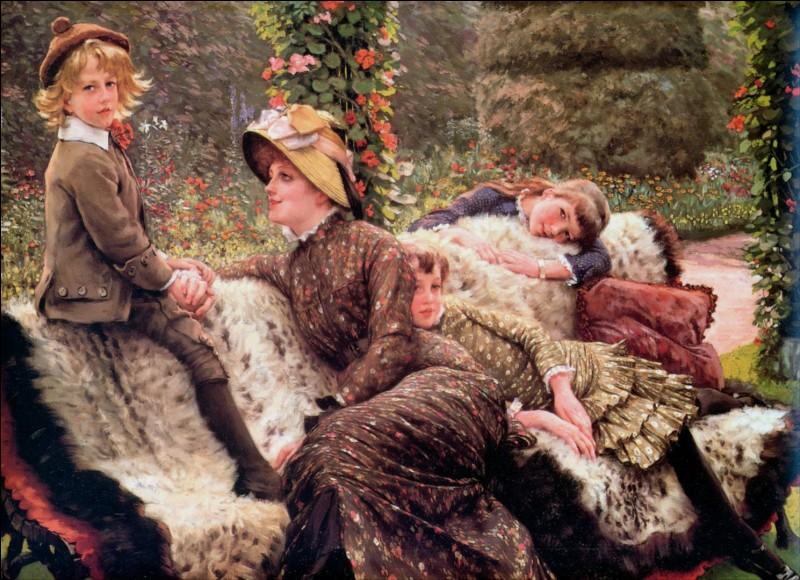 """Qui a peint """"Le banc de jardin"""" ?"""
